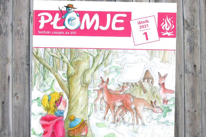 Januarausgabe der Płomje online