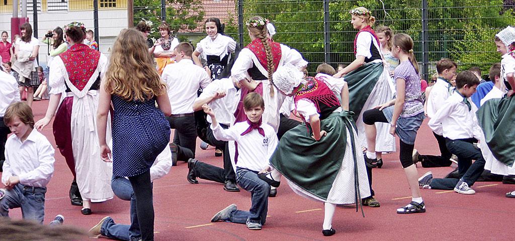 Organisation und Durchführung sorbischer Feste