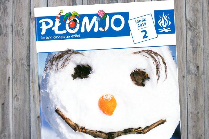 Neue Ausgabe der Kinderzeitschrift Płomjo erscheinen