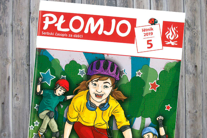 Neue Ausgabe der Płomjo