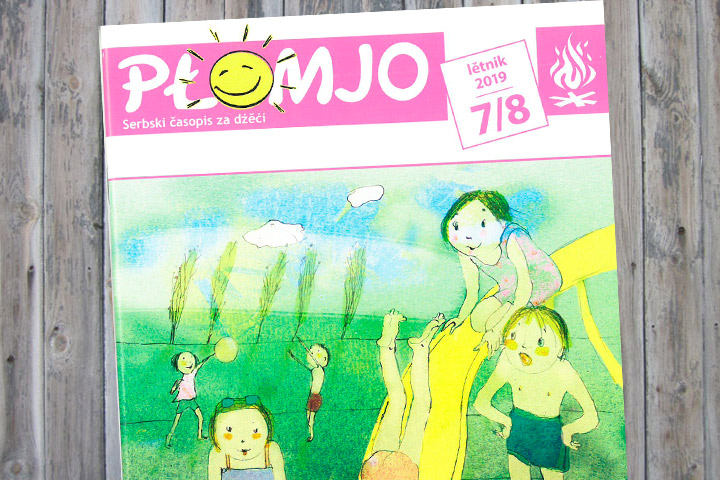 Neue Płomjo-Ausgabe