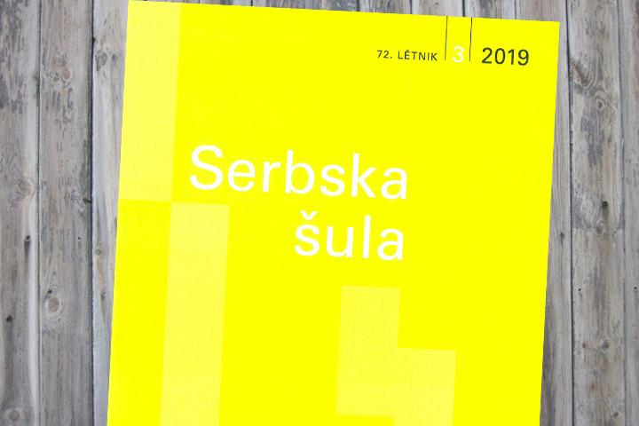 In der neuesten Ausgabe der Serbska šula …