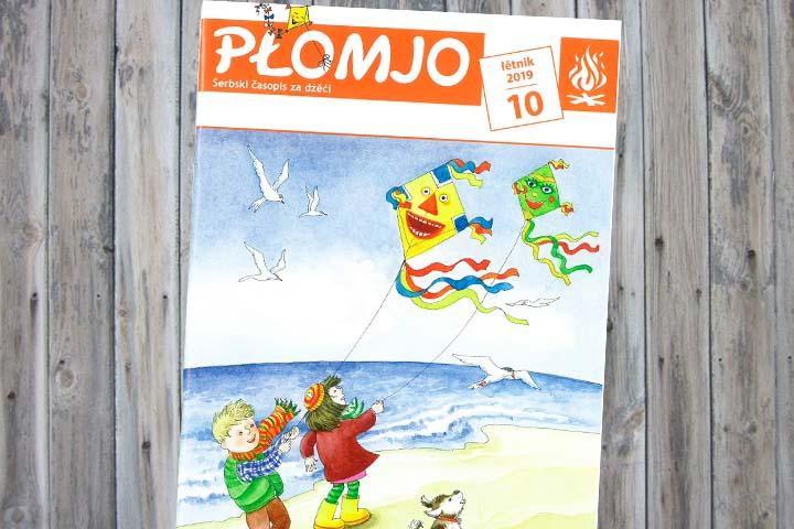 Die Herbstausgabe der Płomjo ist da