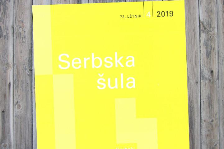 Neue Ausgabe der sorbischen Lehrerzeitschrift erschienen