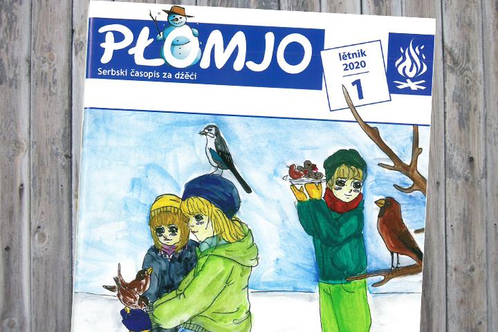 Neue Ausgabe der sorbischen Kinderzeitschrift