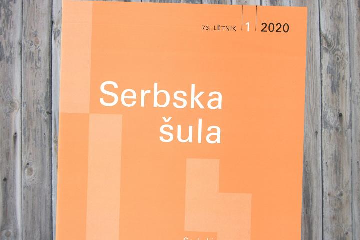 In der ersten Ausgabe der Serbska šula 2020