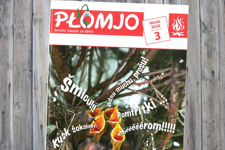 Frühjahrsausgabe der Płomjo erschienen