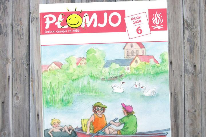 Juni-Ausgabe der Płomjo erschienen
