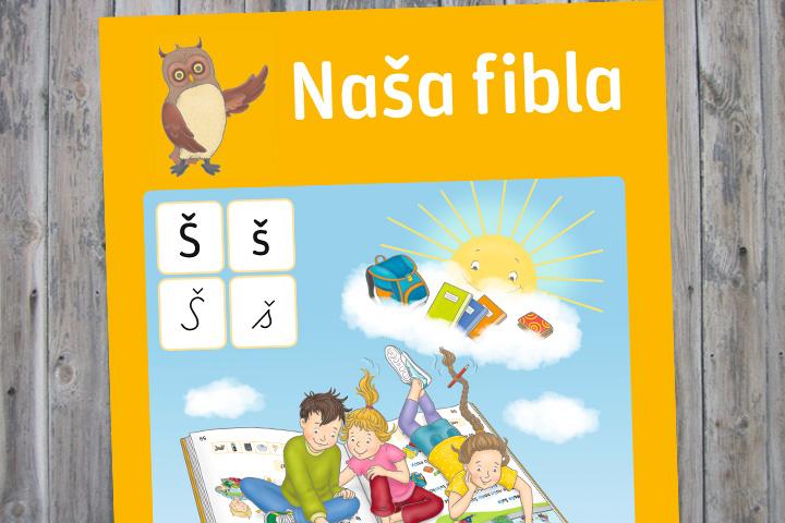 Naša fibla – mit Handpuppe, Beilage für Eltern und Stempel für Lehrer