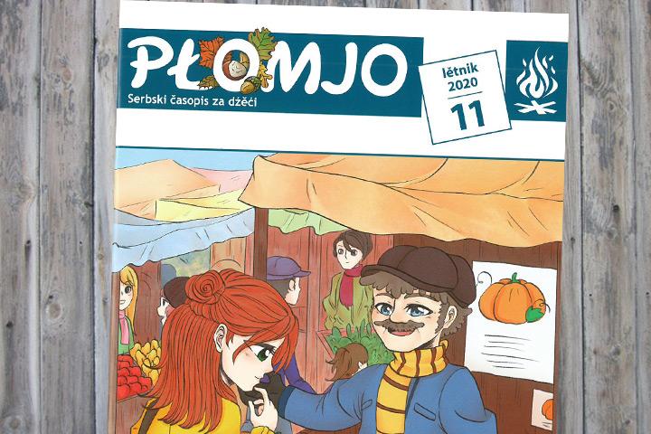 Novemberausgabe der Płomjo erschienen