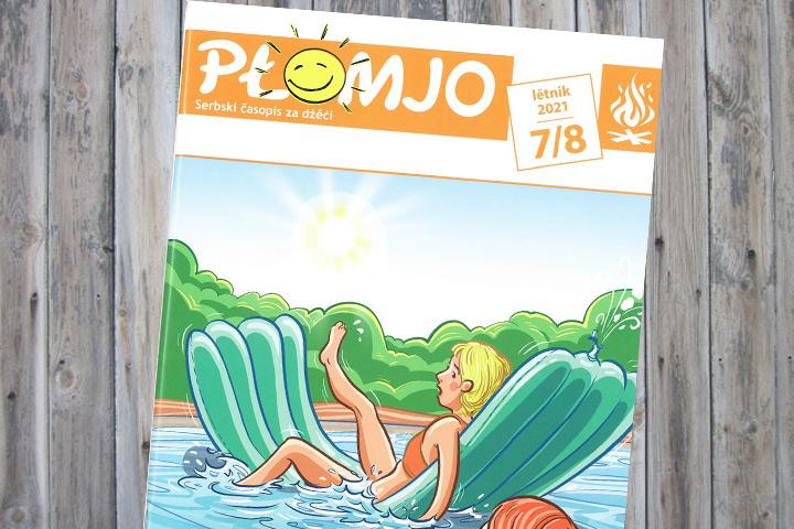 Sommerausgabe der Płomjo erschienen
