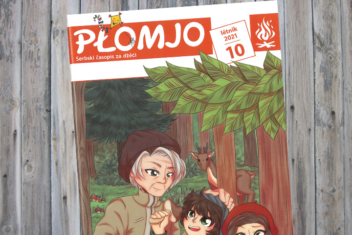 Oktober-Ausgabe der Płomjo erschienen